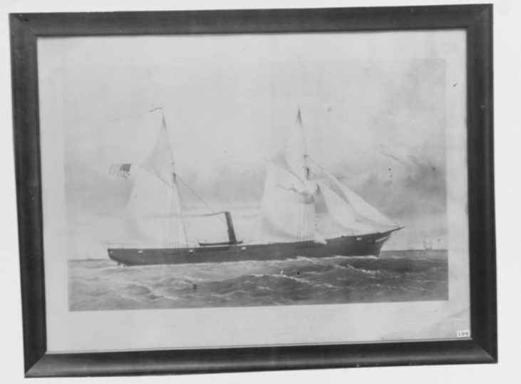 NH 42352 USS Unadilla (1861-1869)