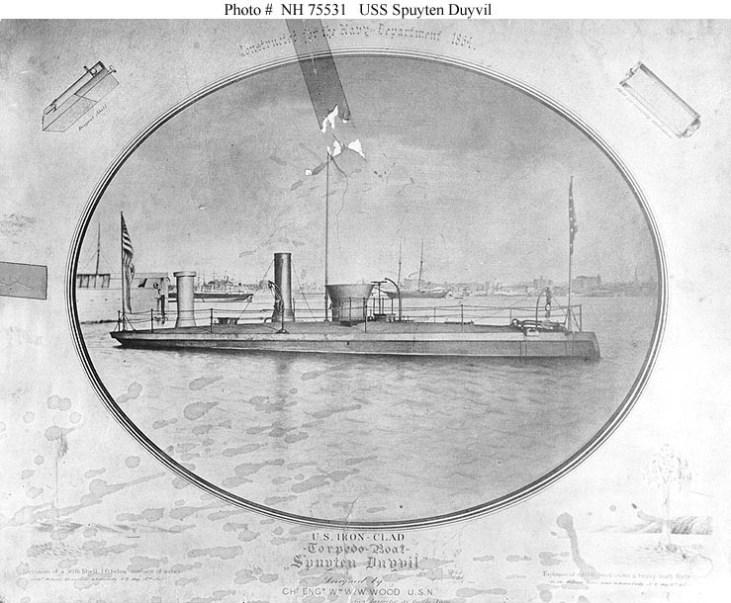 NH 75531 USS Spuyten Duyvil