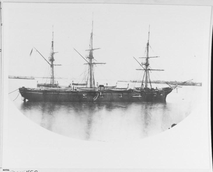 NH 58770 USS SHAWMUT (1864-1883)