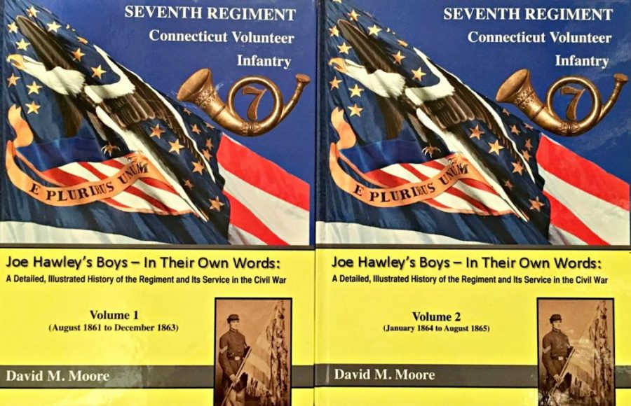 Image of Covers of Vols. 1-2 of Seventh Regiment Connecticut Volunteer Infantry