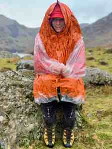 A Blizzard Jacket being tested on a Mountain Leader training course in Snowdonia.
