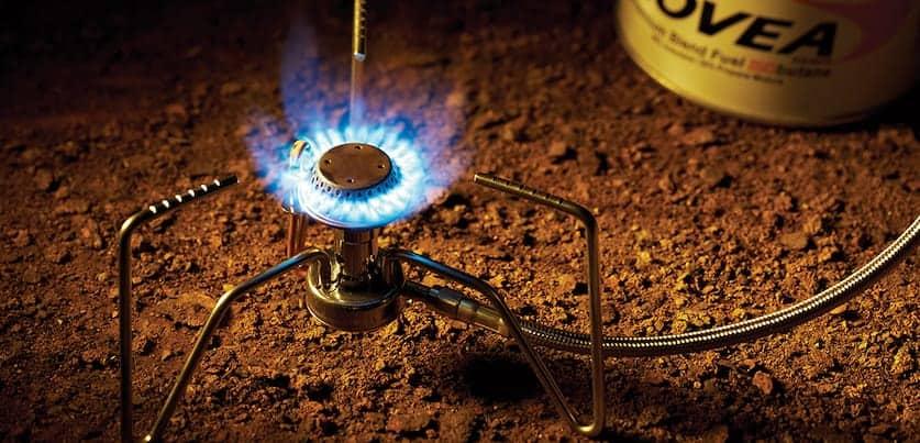 Kovea Spider in Use