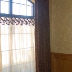 Living Room Window Sill Decorating Ideas Fabric Sets Gallery - Cafe Curtains & Length Panels Beyond The ...