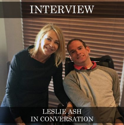 Leslie Ash – In Conversation