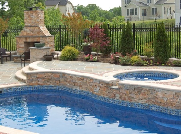 pool landscaping ideas create