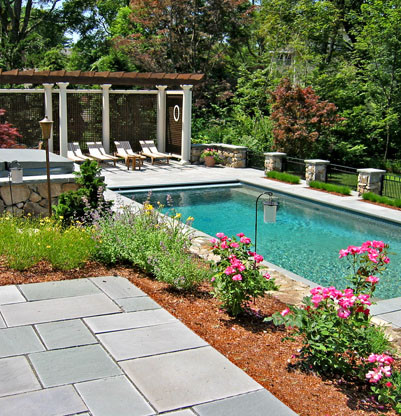 pool landscaping ideas create