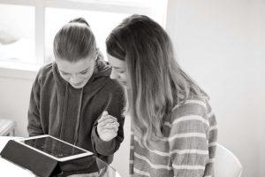 Speech language therapy on the iPad