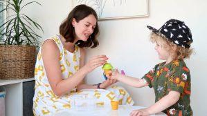 Ice cream toy speech therapy