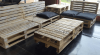 Pallet Couch 2 | Pallet Furniture Couch | Reclaimed Pallet ...