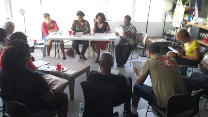 Our first read of According to Diana by Rachel Benjamin. She received production feedback from Numa Perrier, an LA-based film and performance producer, Martine Jean, an entertainment lawyer, and Brooklyn Murphy, an actress. We provided crucial feedback that allowed her to restructure the narrative. It is now a screenplay.