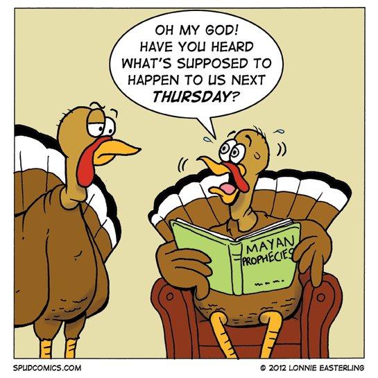 Worried Turkeys