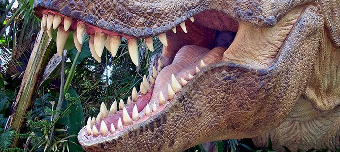 Tyrannosaur Smile