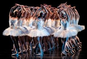 Swan Lake Ballerinas - Photo by Cincinnati Ballet / Peter Mueller