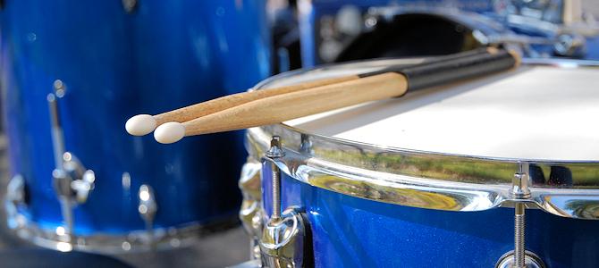 Drum Set - Photo by slgckgc