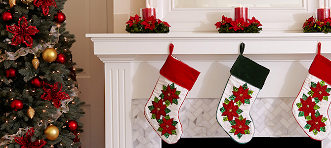 Holiday Stockings - Photo by ProFlowers