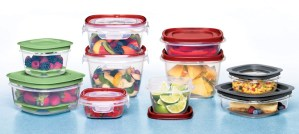 Plastic Storage Containers - Photo by Rubbermaid Products