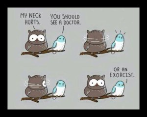 Owl Exorcist Joke