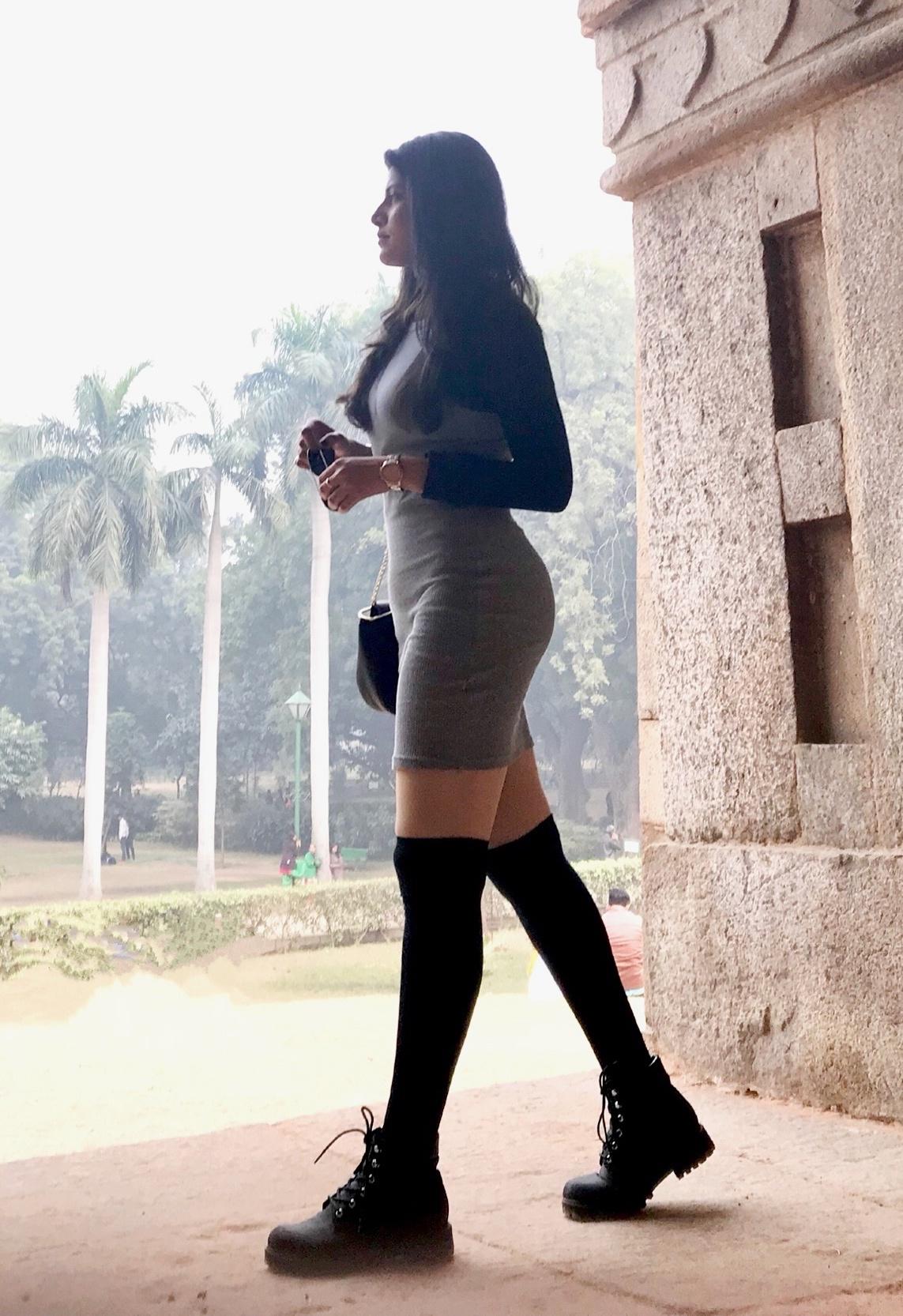1d63631b2 Ketan Gupta Blogs THIGH HIGH SOCKS - Styling And Pairing, How To Wear,  Where To Buy | BlogAdda