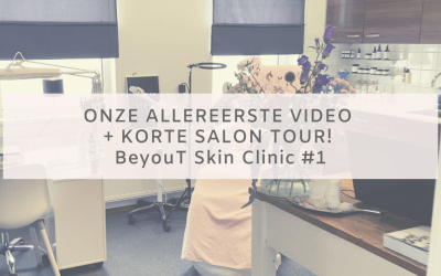 Onze allereerste video + korte salon tour!