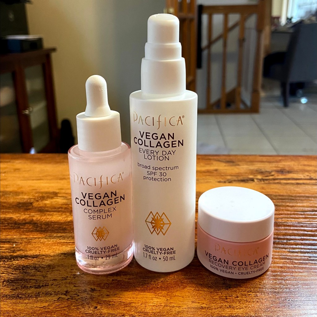 Pacifica Vegan Collagen line