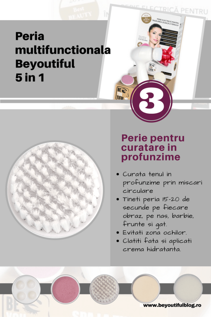 Peria multifunctionala 5 in 1 Beyoutiful