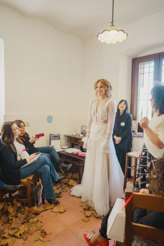 Secondo look presentato: Sunshine – Bridal Dress: Passaro Sposa