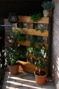 Kruterregal fr den Balkon  Bezauberndes Leben