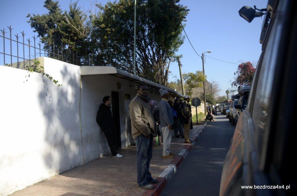Ambasada mauretańska w Rabacie - zaczynamy wyprawę od wyrobienia wiz