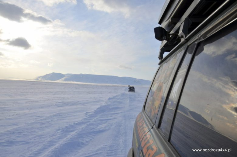 Arktyka - okolice Uralu
