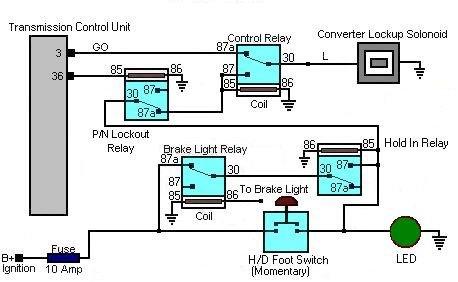 Schemat podłączenia blokady konwertera mocy