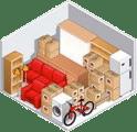 Appartement 4 pièces ou maison