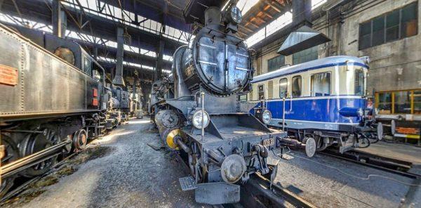 Eisenbahnmuseum-Heizhaus