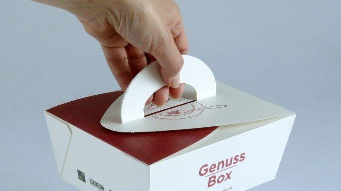 Genussbox wird am Griff getragen © Monika Kupka DIE UMWELTBERATUNG