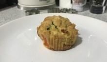 Slané muffiny - Cukinové muffiny