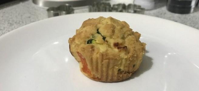cuketové slané muffiny
