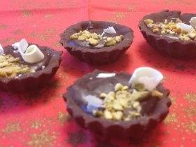 bezlepkové čokoládové tartaletky