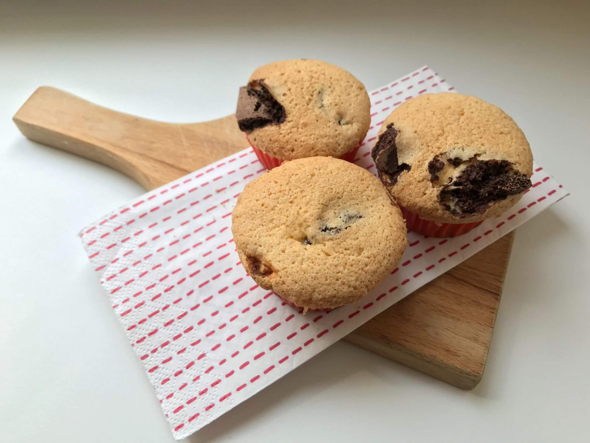 bezlepkový muffin