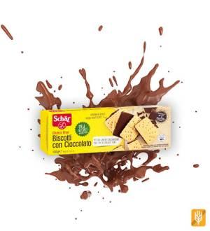 Biscotti con cioccolato - maslové sušienky