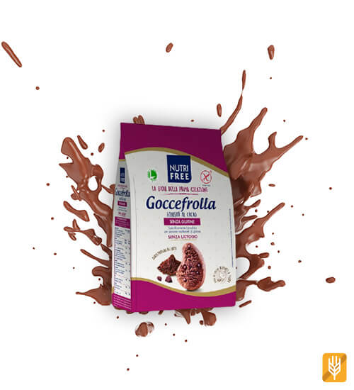 bezlepkové kakaové sušienky s čokoládou