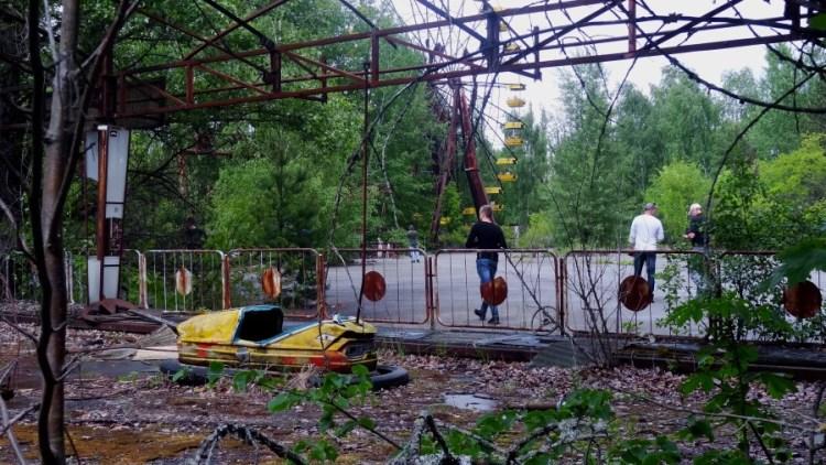 Tsjernobyl kermis - Bezoek Kiev