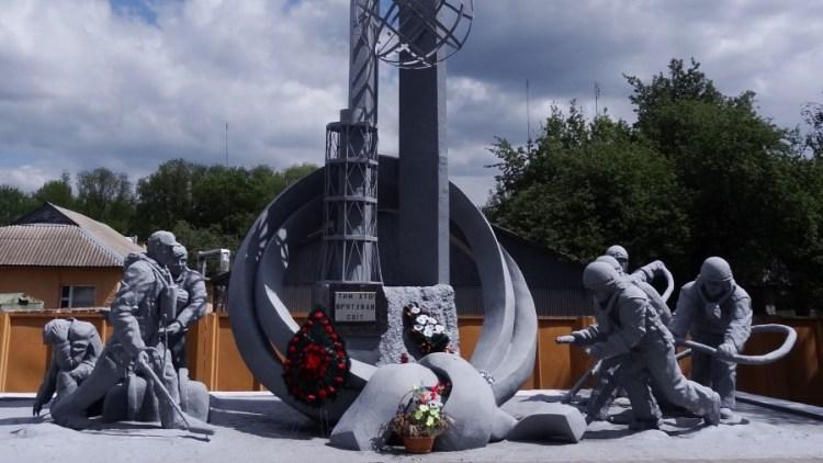 Tsjernobyl monument kernramp - Bezoek Kiev