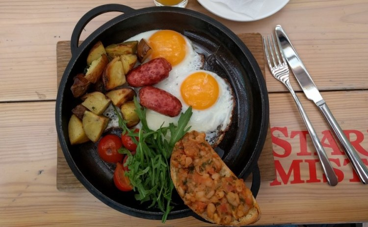 Ontbijt restaurants - Bezoek Kiev
