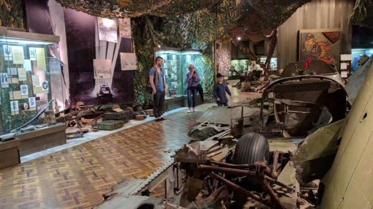 Tweede wereldoorlogmuseum - Bezoek Kiev
