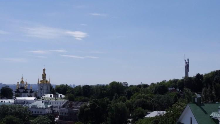 Rodina Mat Moederland beeld - Bezoek Kiev