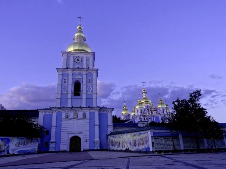 Kiev bij nacht - Bezoek Kiev