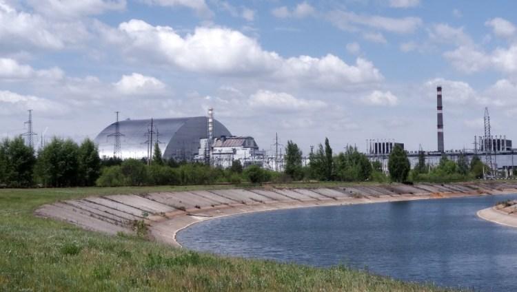Tjernobyl kernreactor vanuit de verte - Bezoek Kiev