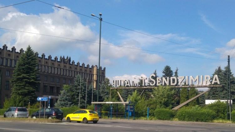 Nowa Huta staalfabriek in Krakow