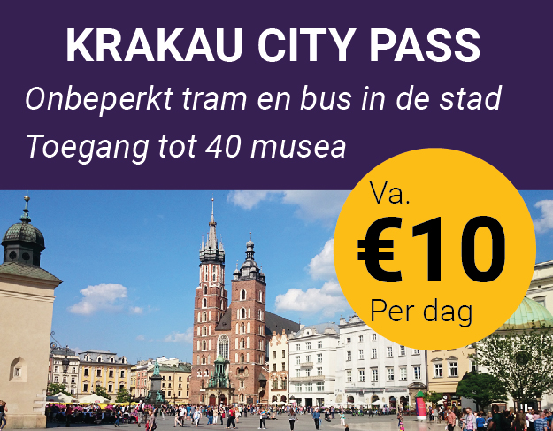 city card Krakau korting