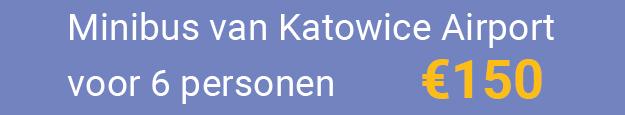 Minibus Katowice Airport naar Krakau