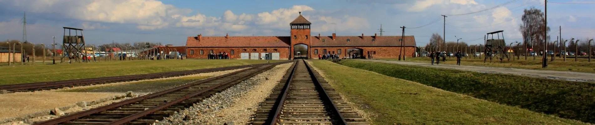 Bezoek Auschwitz: voormalig concentratiekamp